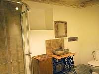 Horská chalupa Jeřabina -  koupelny - pronájem Horní Blatná