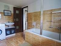 Koupelna - chalupa ubytování Kovářská