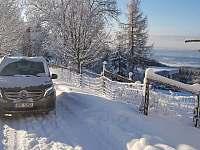 Cesta v zimě - apartmán k pronájmu Mariánská