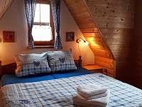 ložnice 2 lůžka - pronájem chaty Mariánská