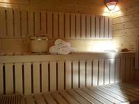 sauna - chata k pronajmutí Mariánská