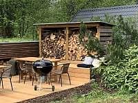 Bludenská chata - relax na terase - k pronájmu Pernink
