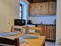 Kuchyňka apt.1 - chata k pronajmutí Pernink