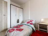Apartmán AB C306 - ložnice s rozkládacím lůžkem - ubytování Loučná pod Klínovcem