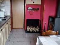 Kuchyň v přízemí - chata ubytování Loučná pod Klínovcem - Háj