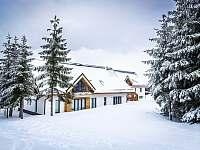Ski Chalet Klínovec exteriér - apartmán ubytování Loučná pod Klínovcem