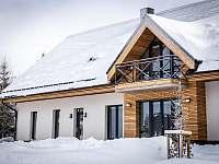 Ski Chalet Klínovec exteriér - apartmán k pronájmu Loučná pod Klínovcem