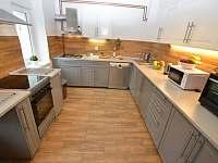 Kuchyň - chalupa ubytování Kovářská