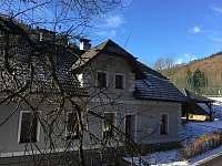Zima ve Vykmanově - vila k pronajmutí Perštejn - Vykmanov