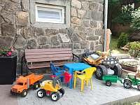 Dětské hračky k zapůjčení - Dolní Moldava