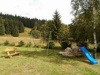 Dětský koutek - chata k pronájmu Hřebečná