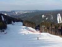 Skiareál Klínovec - 500 m od apartmánů - k pronájmu Loučná pod Klínovcem