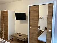 Vybavení ložnice 2 - pronájem apartmánu Vejprty