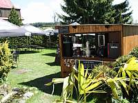 Zahrada - apartmán k pronajmutí Horní Blatná