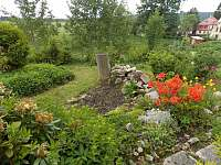 Zahrada - pronájem apartmánu Horní Blatná