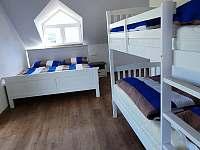 Rodinná ložnice - pronájem chaty Abertamy