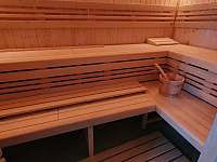 Sauna - chata k pronájmu Abertamy