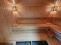Sauna - chata k pronajmutí Abertamy