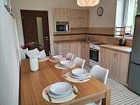 Apartmán 1_kuchyň s jídelnou - k pronajmutí Mikulov