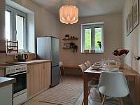 Apartmán 1_kuchyň s jídelnou - k pronájmu Mikulov