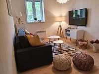 Apartmán 1_obývací pokoj - k pronájmu Mikulov