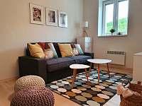 Apartmán 1_obývací pokoj - pronájem Mikulov