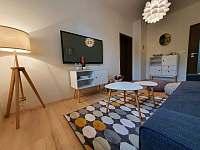 Apartmán 1_obývací pokoj - k pronajmutí Mikulov