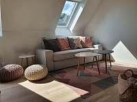 Apartmán 3_obývací pokoj - ubytování Mikulov