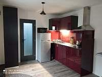 Kuchyň - apartmán ubytování Horní Blatná