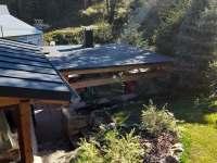 Okolí chaty - chalupa ubytování Zadní Telnice