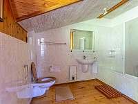 Kalahari - koupelna - chata k pronájmu Loučná pod Klínovcem