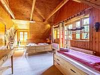 Kalahari - Ložnice - chata ubytování Loučná pod Klínovcem