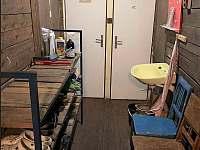 2x suché WC na chodbě - chata ubytování Měděnec - Kotlina