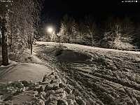 Sjezdovka - pohled od chaty - Měděnec - Kotlina