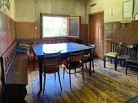 Společenská místnost - chata ubytování Měděnec - Kotlina