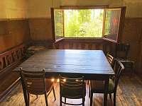 Společenská místnost - chata k pronájmu Měděnec - Kotlina
