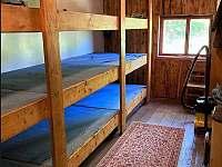 Velká ložnice - chata k pronájmu Měděnec - Kotlina