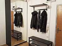 Chodba - apartmán ubytování Kovářská