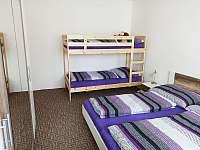 Ložnice - pronájem apartmánu Kovářská