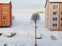 Pohled z oken - apartmán k pronájmu Kovářská