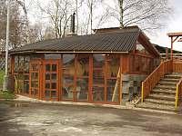 Venkovní griloviště - ubytování Blatno