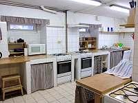 Kuchyň - pronájem chalupy Moldava - Nové Město