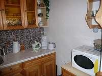 Kuchyně - pronájem chaty Mariánská