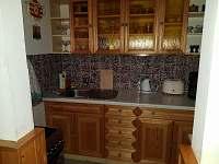 Kuchyně - chata k pronájmu Mariánská