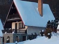 Zimní pohoda - chata k pronájmu Mariánská