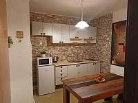 Kuchyň - apartmán k pronajmutí Jáchymov - Mariánská