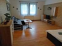 Obývací pokoj - pronájem apartmánu Jáchymov - Mariánská