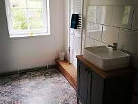 Parto koupelna 1 - pronájem chalupy Vejprty