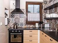 kuchyň - chata k pronajmutí Kovářská