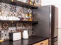kuchyň - pronájem chaty Kovářská